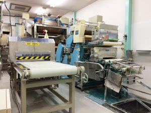 お米の皮専用工場 専用ラインで製造