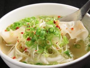 水餃子(スープ餃子)